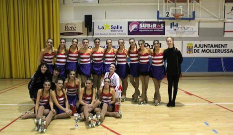 El Club Patí Borges, segon al Provincial de Grup Xous
