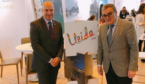 La presentació de la marca de Lleida a Fitur.