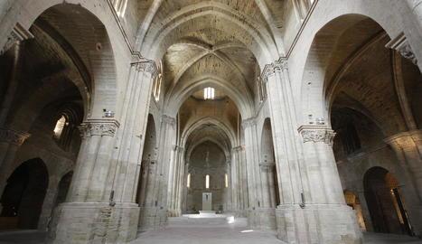 La nau central de la Seu Vella serà una de les localitzacions principals del curt 'Condamned'.