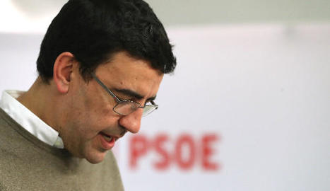 El portaveu de la comissió gestora del PSOE, Mario Jiménez.