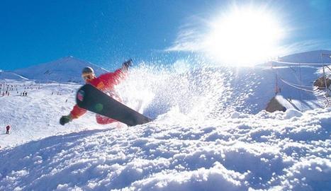 Una estació d'esquí