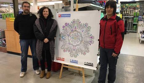La ferreteria Alberto Soler de Lleida ja s'ha adherit a la nova campanya de la fundació.