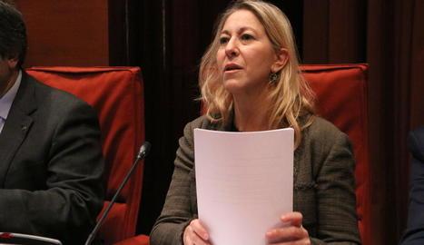 La consellera de la Presidència i portaveu del Govern, Neus Munté.