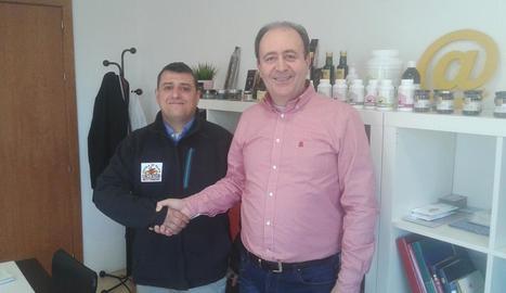Ginés i Martínez han treballat junts en el projecte.