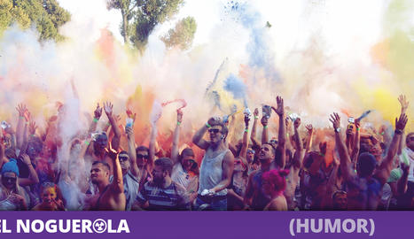 300.000 hindús i 'hipsters' es presenten a la Fira de l'Oli de les Borges pensant-se que era una festaHoli