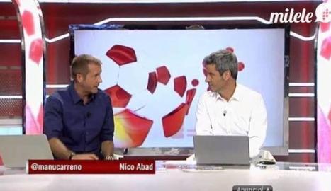 Manu Carreño i Nico Abad.