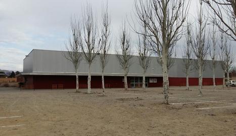 El nou pavelló del Molí de l'Esquerrà de Balaguer.