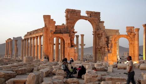 Imatge de la ciutat monumental siriana de Palmira.