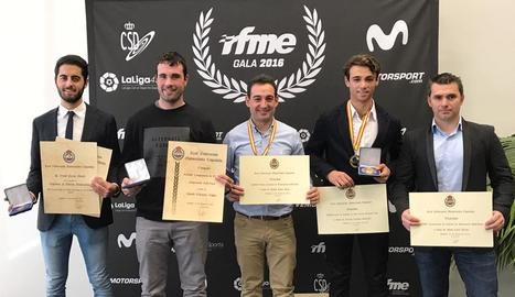 El Suzuki Grau, premiat a la Gala de la Federació Espanyola de motos