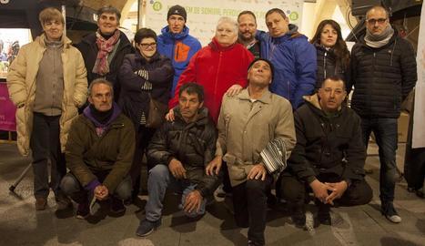 Raül Arenas va ser rebut ahir a la seua ciutat natal, Tàrrega.