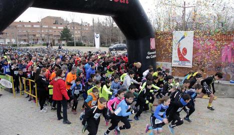 La duatló popular d'Alpicat va ser més participativa que mai i va congregar 470 esportistes de totes les edats.
