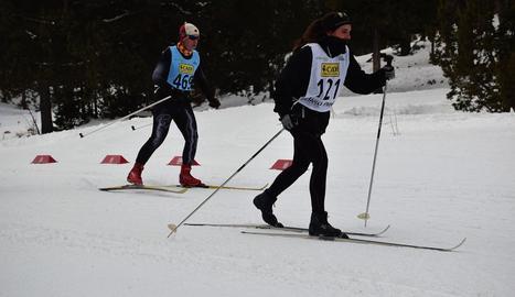 Dos dels participants, durant la competició.