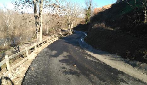 Un dels camins on s'han executat millores.