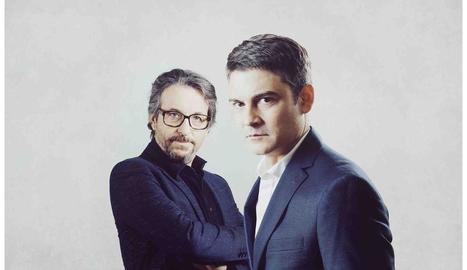 Ramon Madaula i Roger Coma, protagonistes de 'L'electe'.