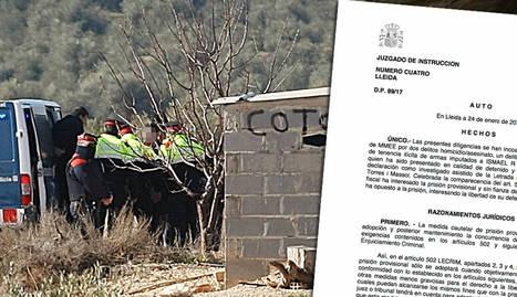 Presó per al caçador acusat de matar els dos agents rurals a Aspa