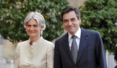 François Fillon i la seua dona en una fotografia del 2008.