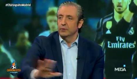 Josep Pedrerol abandona el plató a la meitat del programa