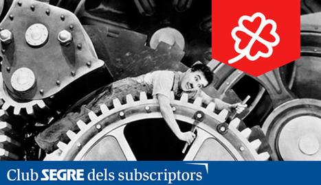 Fotograma de la pel·lícula 'Temps moderns' de Charles Chaplin