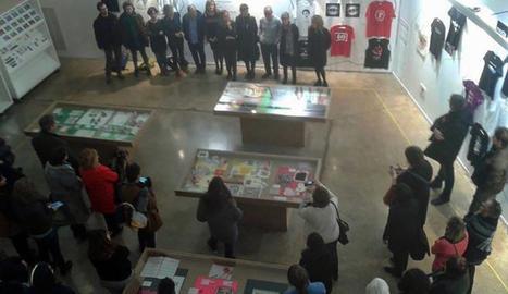 L'Escola d'Art Leandre Cristòfol inaugura la mostra 'Body & Games'