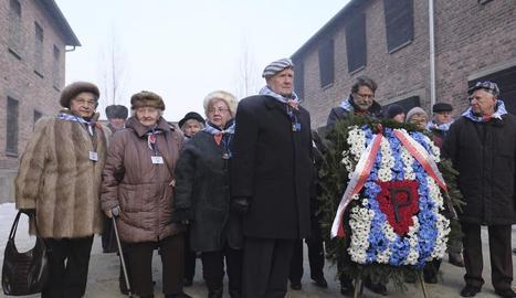 Record a Auschwitz a les víctimes de l'Holocaust nazi