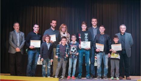 Montgai acull la gala dels premis provincials de motociclisme