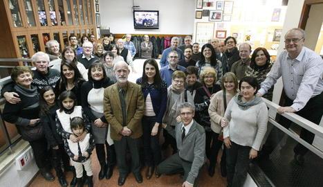 La Llar de Persones Sordes va celebrar ahir la festivitat de Sant Francesc de Sales.