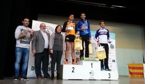 Ricard Pastó, Antoni Carulla i David Jordán van formar el podi en categoria masculina.