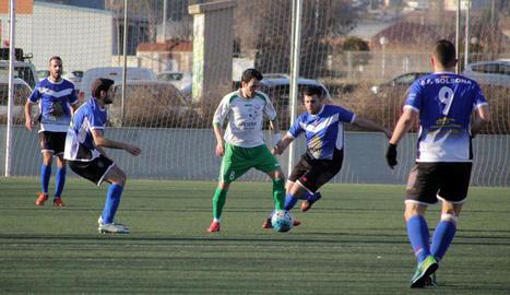 El Balàfia va jugar un gran partit però no va poder superar el Solsona.