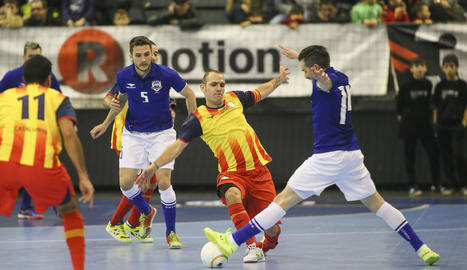 Catalunya cau contra Brasil en futbol sala
