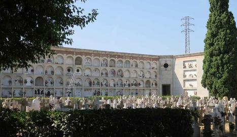 Imatge d'arxiu del cementiri de Lleida.