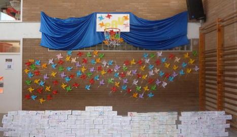 El mur amb els desitjos.