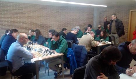 Sastre i Visa guanyen el Territorial d'escacs