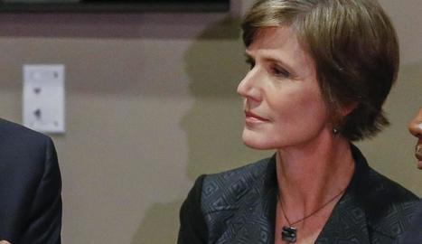 Imatge de la fiscal general en funcions, Sally Yates, destituïda per Donald Trump.