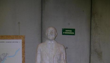 La restauració de l'estàtua es va acabar a principis de l'any passat.