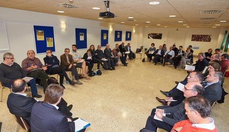 La jornada del procés de debat 'GovernsLocals.cat' a Os de Balaguer