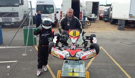 Jacob Pérez va participar en dos curses al circuit valencià.
