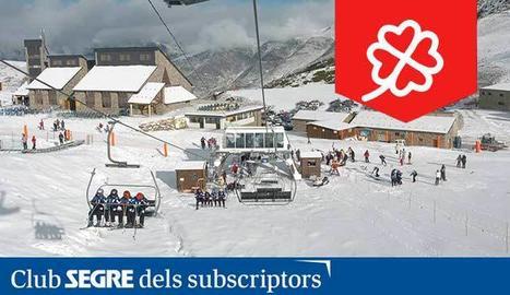 Panoràmica de l'estació d'esquí de Boí Taüll Resort