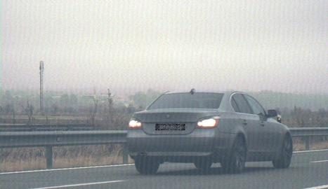 El vehicle el conductor del qual va ser denunciat penalment.
