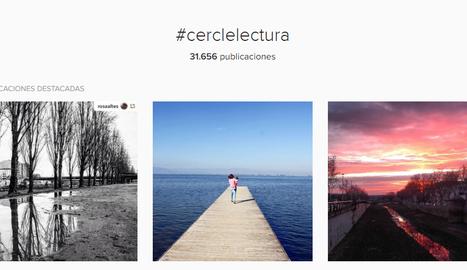 Imatges amb el hashtag #cerclelectura a Instagram.