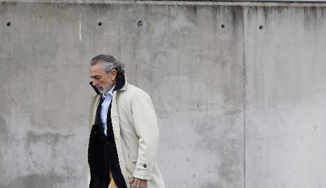 Francisco Correa, anant a una de les sessions del judici.