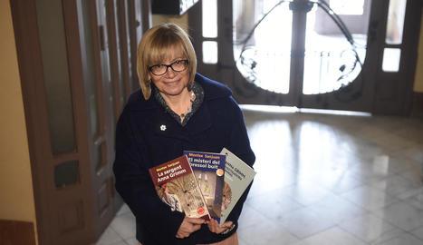 """Montse Sanjuan: """"Vaig escriure 'La sergent Grimm' després de llegir un llibre que no em va agradar"""""""