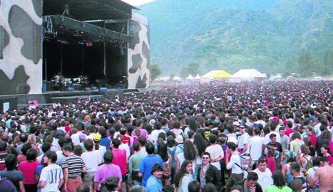 Una de les actuacions del Doctor Music Festival el 1996.