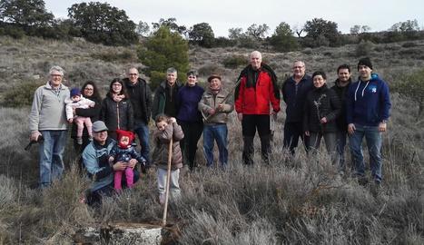 La reforestació es va portar a terme a la finca comunal de la Calafa.