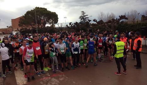 La Cursa de la Serra va comptar amb diverses carreres infantils, a banda d'altres activitats per als petits.