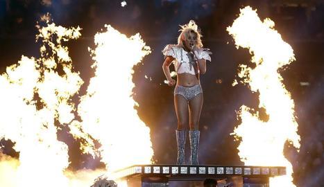 Lady Gaga va protagonitzar diumenge a Houston l'espectacular concert de la Super Bowl.