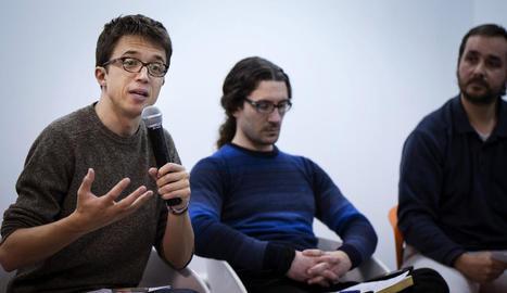 El secretari polític de Podem, Íñigo Errejón.