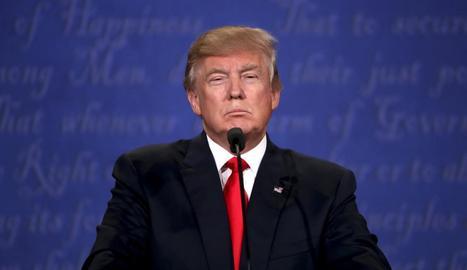 Imatge d'arxiu del president nord-americà, Donald Trump.