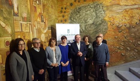 L'acte de presentació dels projectes subvencionats per la Diputació de Lleida