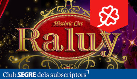 Cartell promocional del Circ Històric Raluy