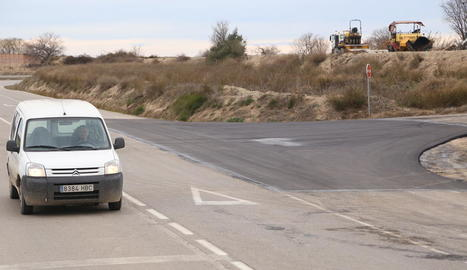 Les obres han consistit a renovar l'asfalt.